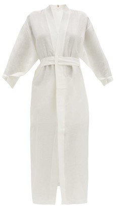 Lunya - Resort Linen-blend Robe - White
