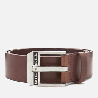 Diesel Men's Bluestar Leather Belt
