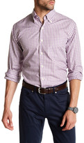 Peter Millar Huntington Checkered Regular Fit Dress Shirt