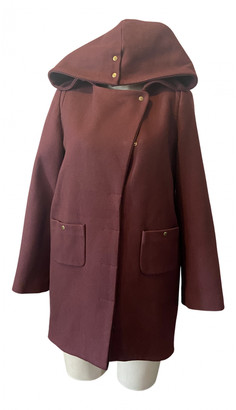 BA&SH Burgundy Wool Coats