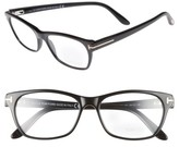 Tom Ford Women's 54Mm Optical Glasses - Dark Havana