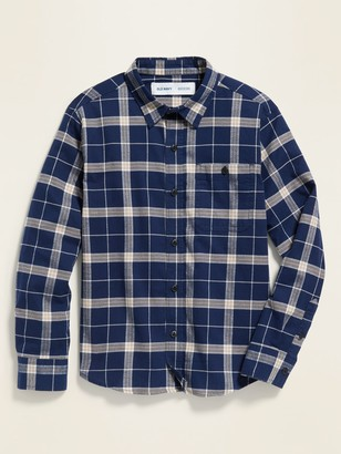 Old Navy Textured Long-Sleeve Shirt for Boys