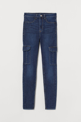 H&M Skinny High Cargo Jeans