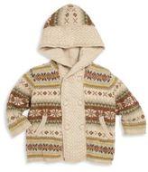 Ralph Lauren Baby's Hooded Fair Isle Wool Sweater