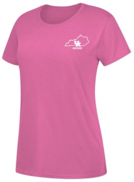 Top of the World Women's Kentucky Wildcats State Outline Pastel T-Shirt