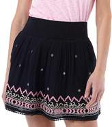 Superdry Womens Neonomad Smocked Skirt Eclipse Navy