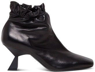 Givenchy Asymmetrical Heel Ankle Boot