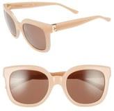 Tory Burch 54mm Cat Eye Sunglasses