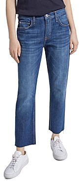 Current/Elliott The Original Fling Raw Hem Jeans in True Lover Cut