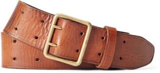 Ralph Lauren Tumbled Leather Belt