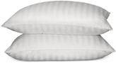 Blue Ridge Damask Stripe Siberian Down King Pillow