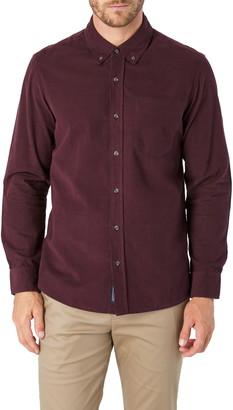 7 Diamonds The Darklands Slim Fit Corduroy Button-Down Shirt