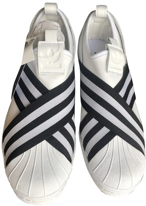 adidas Superstar White Rubber Trainers