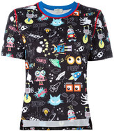 Fendi monster space print T-shirt