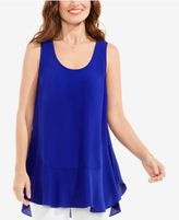 Vince Camuto Ruffled High-Low Top