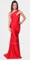 Atria One Shoulder Lace Strap Prom Dresses