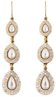 Juliet & Company Teardrop Pearl Earrings pt 2