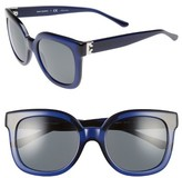 Tory Burch Women's 54Mm Cat Eye Sunglasses - Ocean