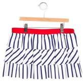 Junior Gaultier Girls' Striped Cover-Up Skirt w/ Tags