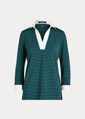 Ralph Lauren UV Jersey Golf Tunic Top