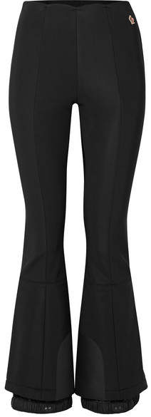 Moncler Flared Stretch Ski Pants - Black