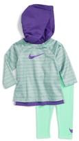 Nike Infant Girl's Therma Dri-Fit Hoodie & Leggings Set