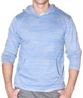 191 Unlimited Men's Blue Heathered Hoodie