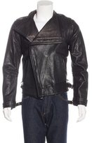 Gareth Pugh Convertible Leather Jacket