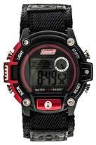 Coleman Men's Digital Sportwrap Watch - Black/Red