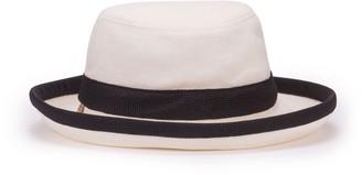 Tilley Hats TH8 Packable Sun Hat - Natural-Black LARGE