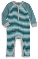 Tea Collection Infant Boy's Ichiro Stripe Romper