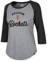 '47 Women's Houston Rockets Club Raglan T-Shirt