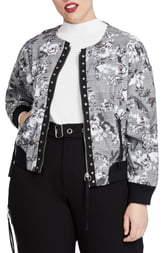 Rachel Roy Baldwin Bomber Jacket