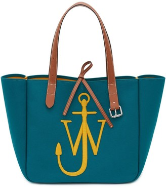 J.W.Anderson Logo-Embroidered Tote Bag