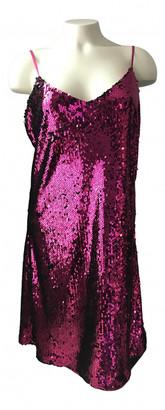 Donna Karan Pink Glitter Dresses