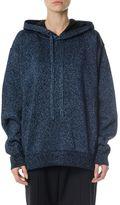 Maison Margiela Lurex Wool Blend Oversized Sweatshirt