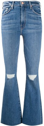 Mother Weekender high-rise jeans