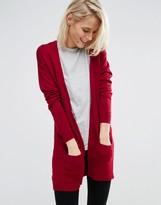 Asos Cardigan in Fine Knit in Soft Yarn
