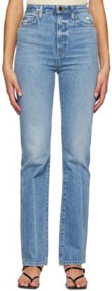 KHAITE Blue Danielle Jeans