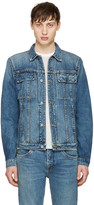 Helmut Lang Blue Mr 87 Denim Jacket