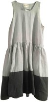 Henrik Vibskov White Linen Dress for Women