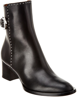 Givenchy Elegant Leather Ankle Boot