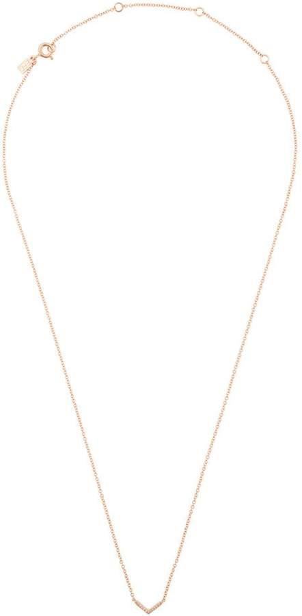 Ef Collection Chevron necklace