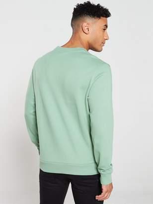 Calvin Klein Logo Sweatshirt - Light Green