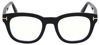 Tom Ford 50MM Square Clear Lens Glasses