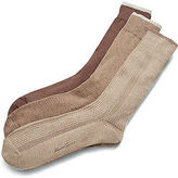 Kenneth Cole Three-Pack Varigated Ribbed Socks