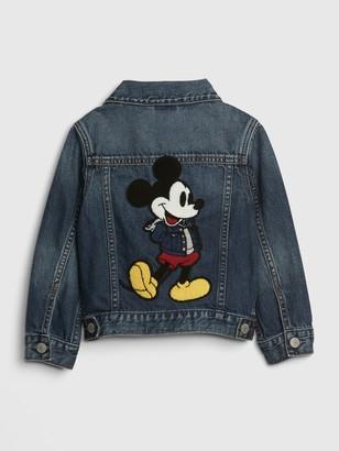 Gap babyGap | Disney Mickey Mouse Icon Denim Jacket