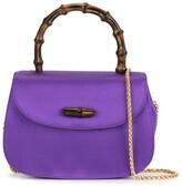 Gucci Pre Owned Bamboo mini shoulder bag