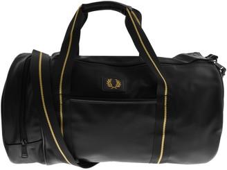 Fred Perry Texture Barrel Bag Black