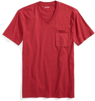 "Goodthreads Amazon Brand Men's Slim-Fit ""The Perfect V-Neck T-Shirt"" Short-Sleeve Cotton"